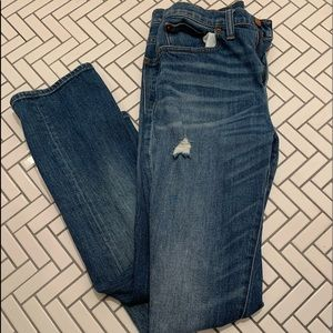 Madewell Cropped straight jeans